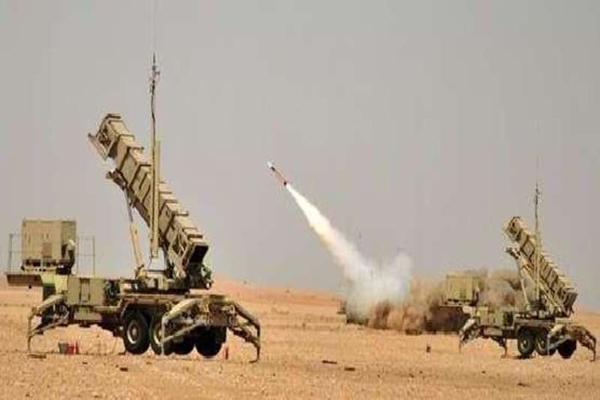 الدفاع الجوي السعودي يعترض صاروخا بالستيا أطلقة الحوثيون من شمال صنعاء