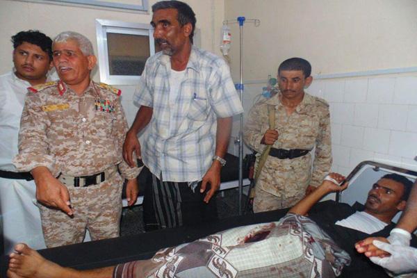 نجاة اللواء الركن عبدالرحمن الحليلي من تفجير استهدف موكبه بحضرموت
