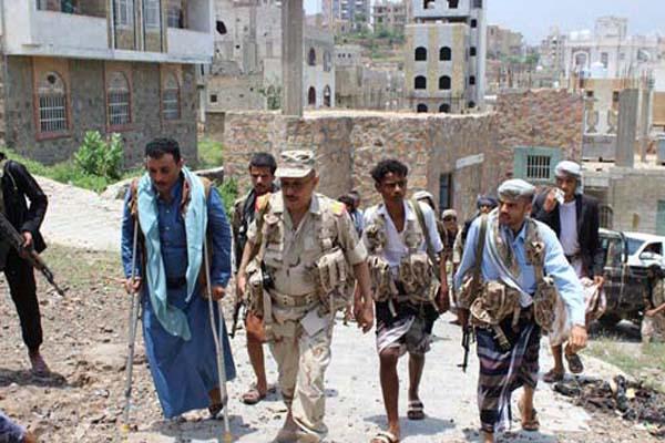 رئيس المجلس العسكري بتعز:النصر بات قريبا