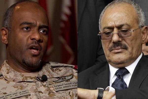 عسيري: نعلم أين ينام علي صالح وهو يتعاون مع القاعدة