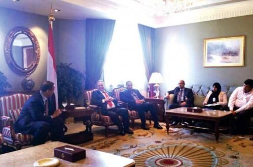 وفد الحكومة يجتمع مع ولد الشيخ لمناقشة تفاصيل الخطة الأمنية والعسكرية