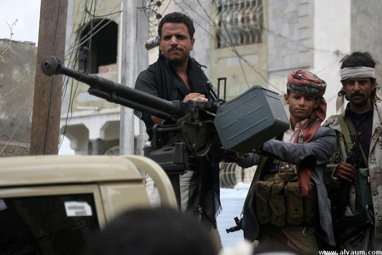 تعز :مواجهات عنيفة بعد مهاجمة الحوثيين مواقع المقاومة في عدد من الجبهات