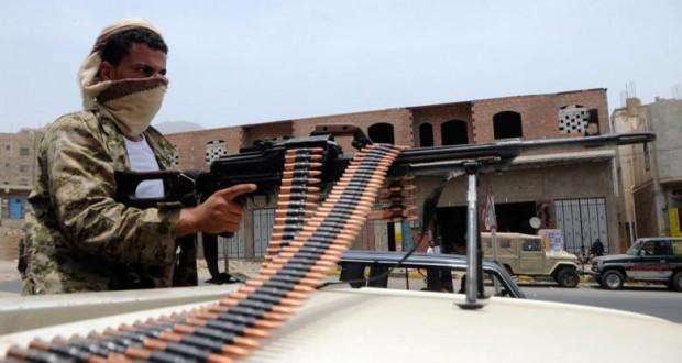 رجال المقاومة يصدون هجمات لميلشيات الحوثي وصالح  بمدينة تعز