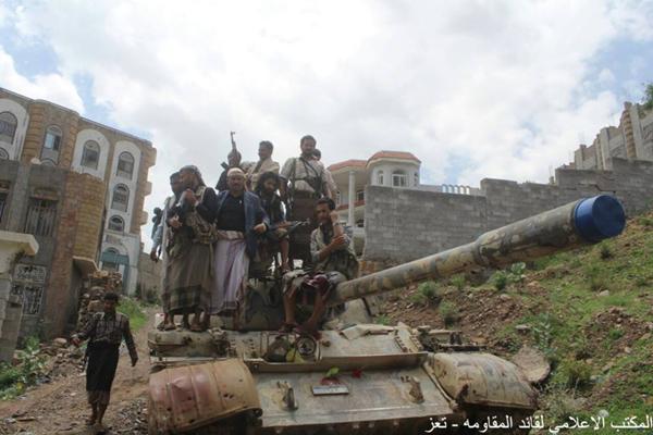 خمسة قتلى من الحوثيين في هجوم على مواقع المقاومة شمالي تعز