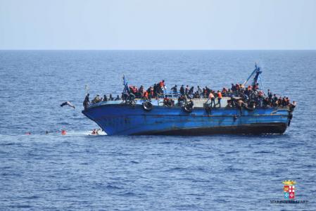 مفوضية اللاجئين: 880 مهاجرا لقوا حتفهم في البحر المتوسط الأسبوع الماضي