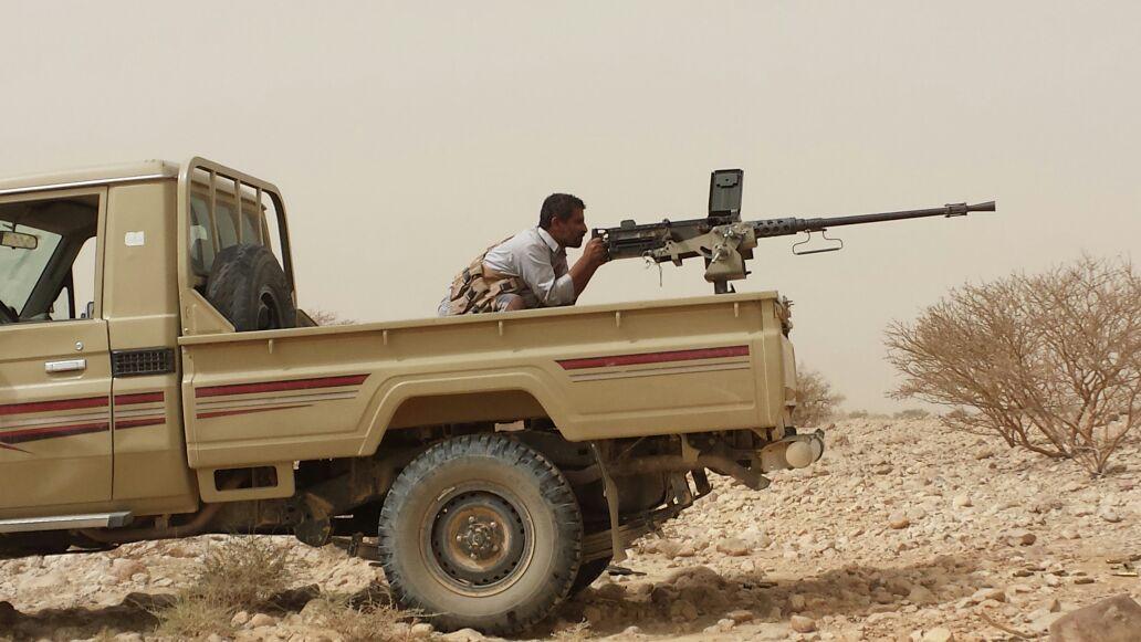 القوات الحكومية تسيطر على ثلاثة مواقع جديدة بالجوف باتجاه صعدة