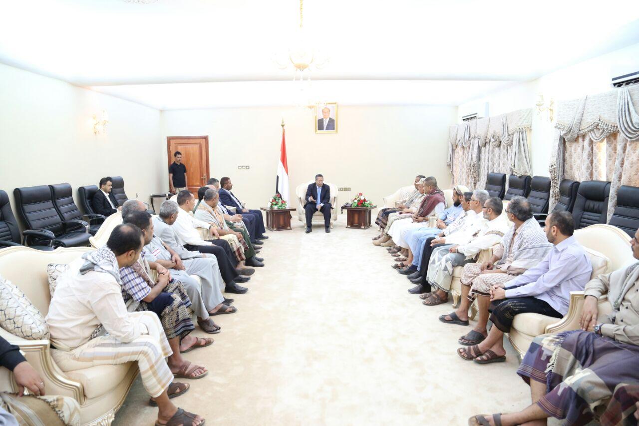 رئيس الحكومة : مدينة تعز جسدت بصمودها الانتصار الحقيقي للجمهورية والوحدة