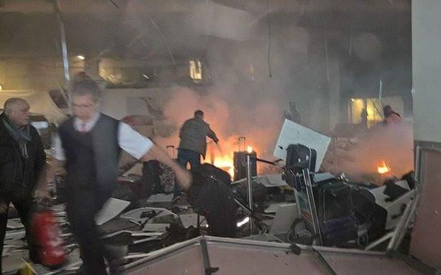 تركيا: 10 قتلى وأكثر من 20 جريحاً بتفجيري مطار اسطنبول