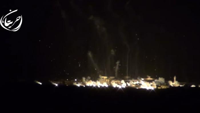 سوريا : الطيران الروسي يقصف بقنابل فسفورية بلدات في حلب