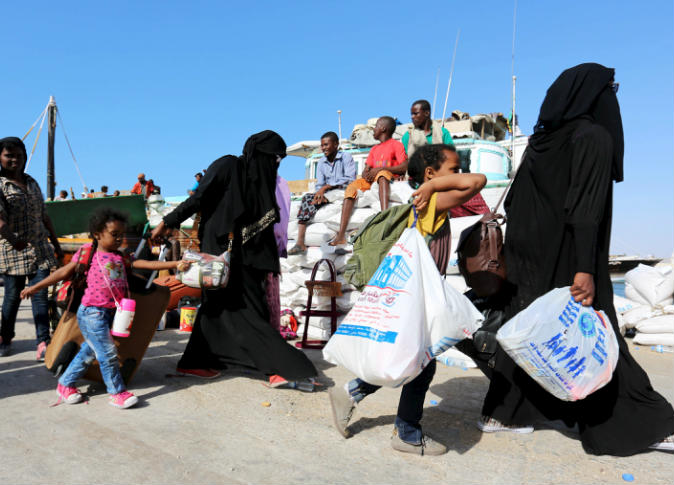 الأمم المتحدة : 2.8 ملايين مهجَر جراء الحرب في اليمن