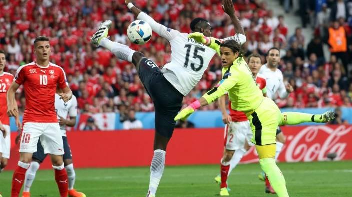 سويسرا تلحق فرنسا في دور 16 ببطولة أوروبا بعد تعادلهما