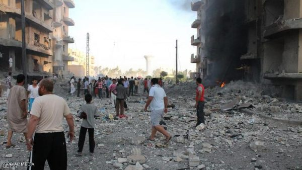 مقتل 876 مدنيا في سوريا خلال فبراير الماضي