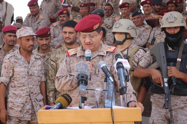 اللواء المقدشي:الجيش الوطني على مشارف صنعاء والنصر آتٍ