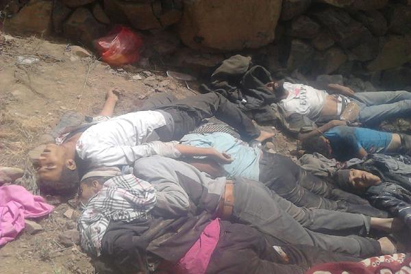 مقاومة إب تدعو أبناء المحافظة للثأر من الحوثيين على مجزرة النادرة
