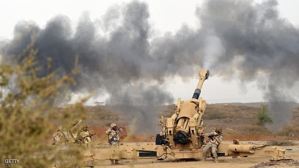 الحوثيون ينقلون آليات عسكرية وصواريخ إلى مناطق حدودية مع السعودية