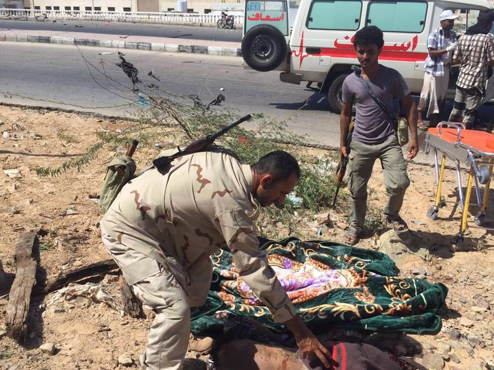 """ارتفاع قتلى تفجيرات """"داعش"""" بحضرموت إلى 48 قتيلاً و38 جريحاً"""
