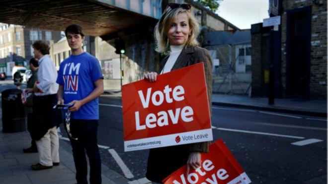 البريطانيون يحسمون بقاءهم في  الاتحاد الأوروبي وكاميرون يدعوهم للبقاء