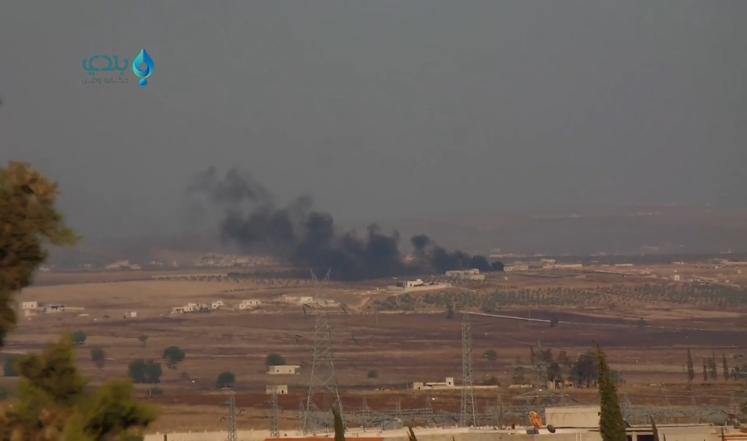 سوريا: المعارضة تعلن إسقاط طائرة روسية بريف حلب
