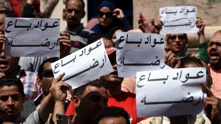 """مصر: الحكم ببراءة 22 شخصا فيما يعرف بمتظاهري """"جمعة الأرض"""""""