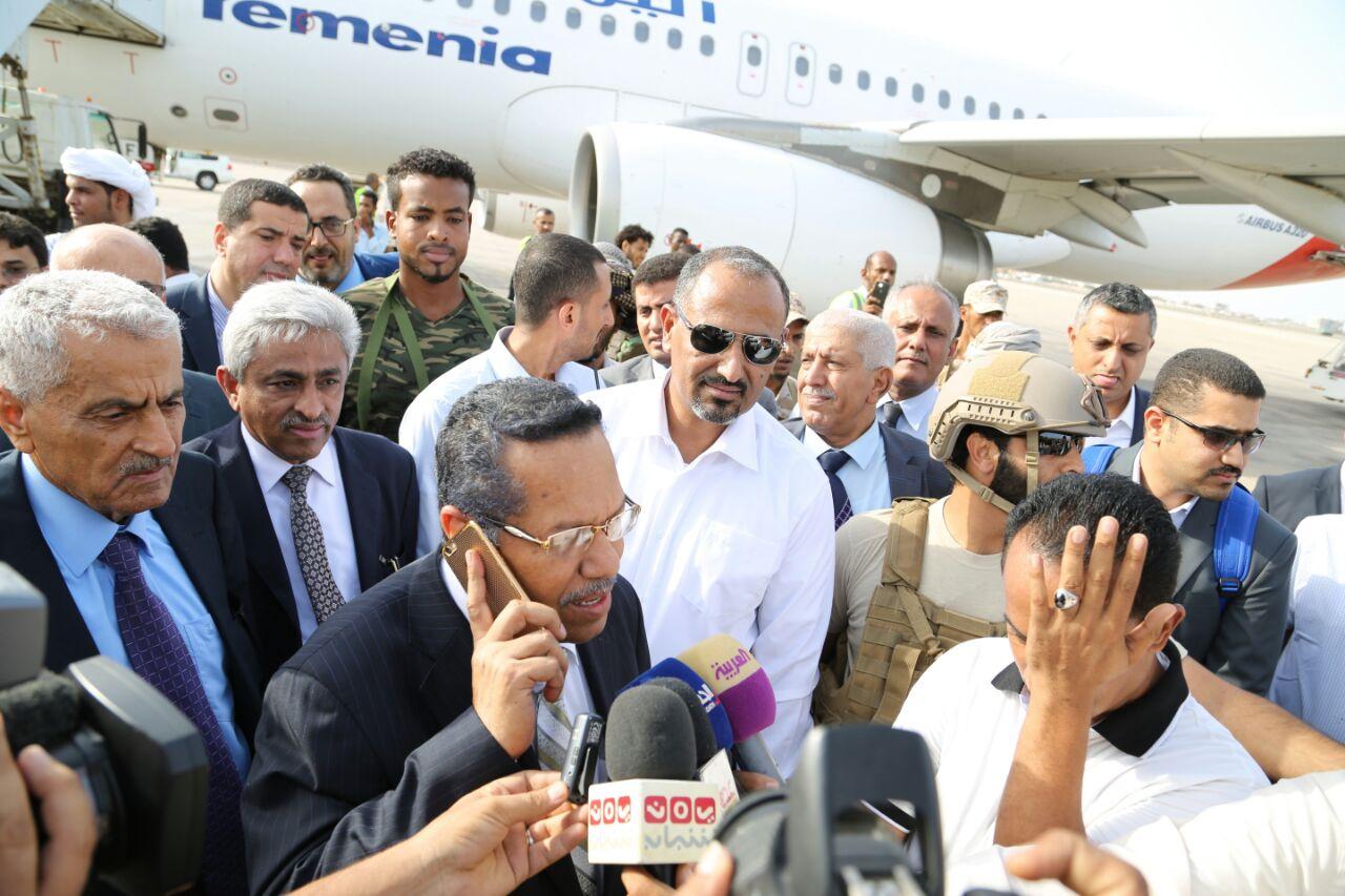 رئيس الوزراء: الحكومة مصممة على مواصلة دورها الوطني من العاصمة المؤقتة عدن