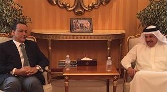 ولد الشيخ يبحث مع الزياني سير المشاورات السلام اليمنية في الكويت