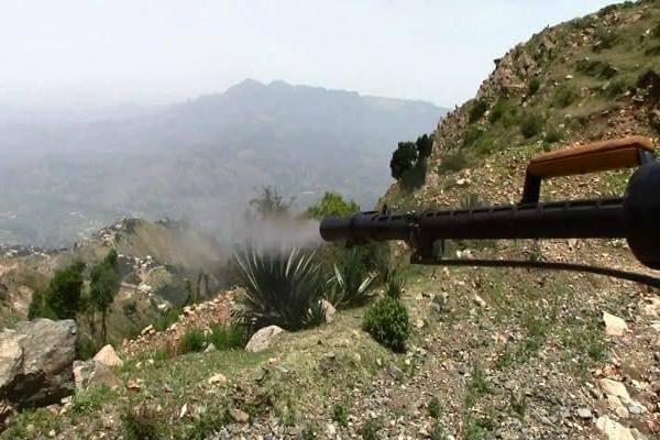 قيادة الجيش والمقاومة تعلن السيطرة على قرى الصراري جنوب تعز
