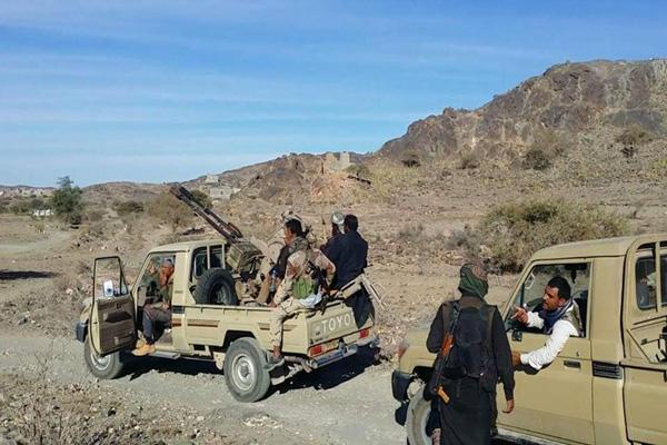 المقاومة تشن هجوما عنيفا على مواقع الانقلابيين بالبيضاء