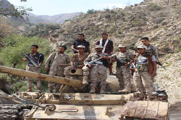 نهم: الجيش الوطني والمقاومة الشعبية يسيطرون على جبل المنارة الاستراتيجي وعدد من القرى والمواقع المجاورة