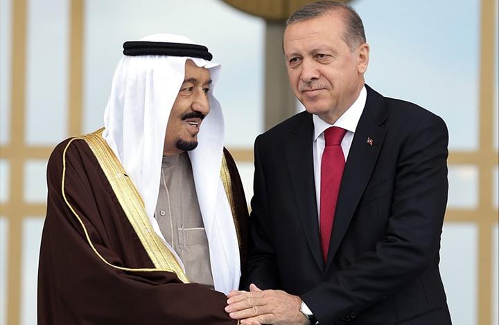 الملك سلمان يهاتف أردوغان وتوقيف ملحق عسكري تركي بمطار الدمام