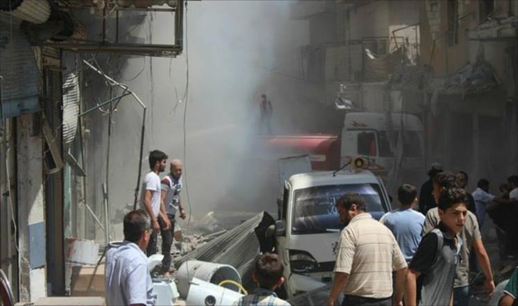 سوريا: 40 قتيلاً بغارات روسية بمدينتي أدلب وحمص