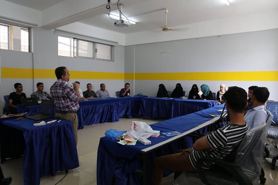 الإعلام الاقتصادي يدرب صحفيين يمنيين على السلامة المهنية