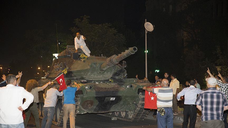 مقتل 90 شخصًا في عموم تركيا إثر محاولة الانقلاب الفاشلة