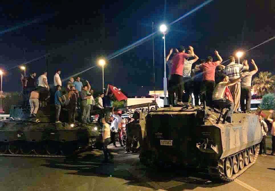 ردود فعل المجتمع الدولي على محاولة الانقلاب العسكري في تركيا