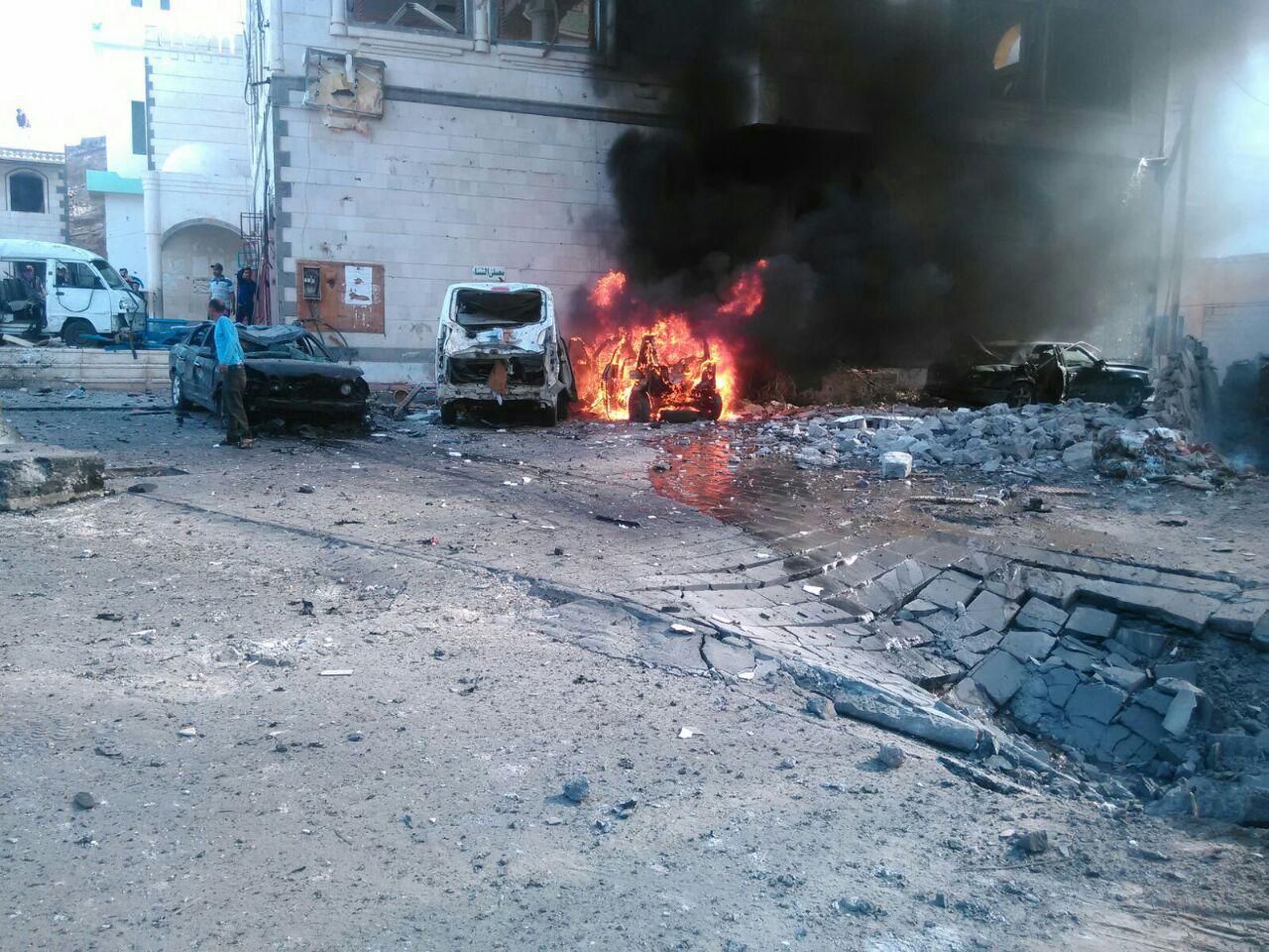 داعش يعلن مسؤوليته عن التفجيرات التي استهدفت نقطة أمنية في عدن ظهر اليوم