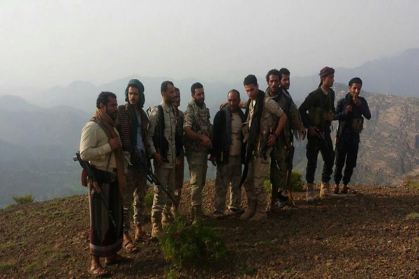 مقاومة تعز تدعو المواطنين للنفير لمواجهة الحوثيين وتحرير المدينة