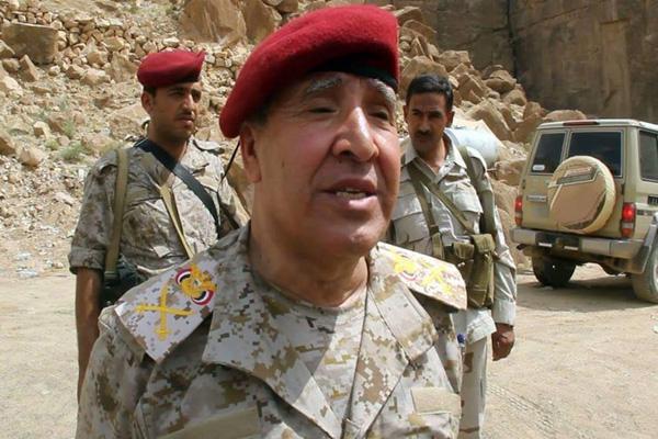 اللواء خصروف: الجيش على اعتاب تحرير نقيل بن غيلان بصنعاء