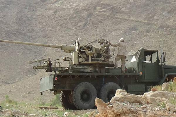 قوات الجيش والمقاومة تسيطر على التبة البيضاء شرق صنعاء