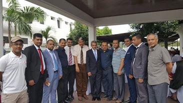 ابناء الجالية اليمنية في ماليزيا يقيمون حفل وداع للسفير العشبي
