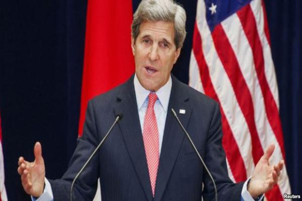 """كيري يصل جدة حاملا """" مقترحات"""" لإنهاء الحرب في اليمن"""