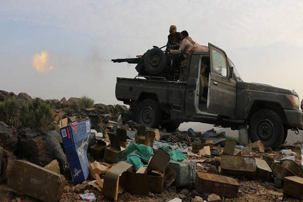 قوات الجيش الوطني والمقاومة تسيطر على مواقع جديدة شرق صنعاء