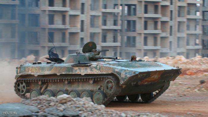 المعارضة تعلن فك حصار حلب