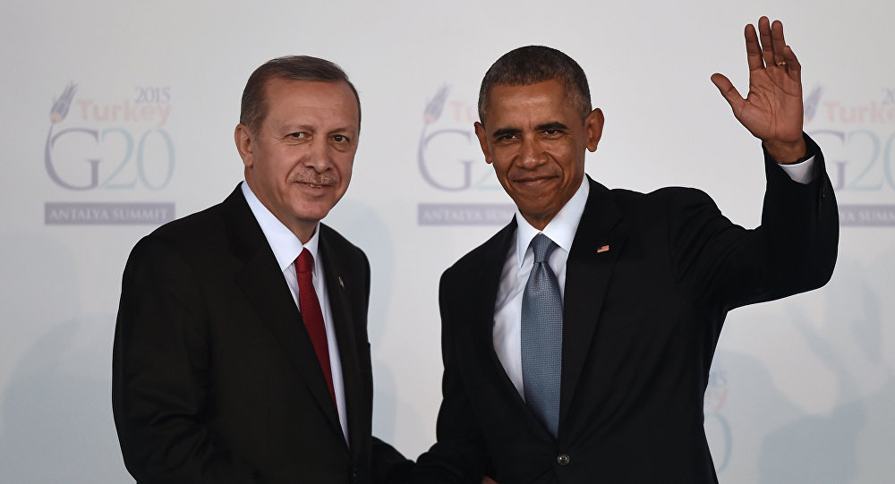 لقاء مرتقب بين أوباما وأردوغان الأحد المقبل لبحث الوضع في سوريا
