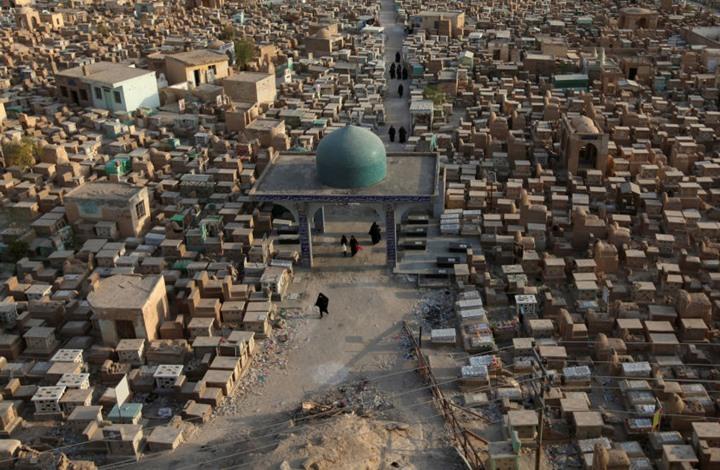 أكبر وأقدم مقبرة للمسلمين في العالم (صور)