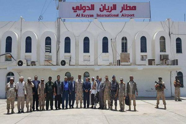 محافظ حضرموت: إعادة فتح مطار الريان نهاية العام الجاري
