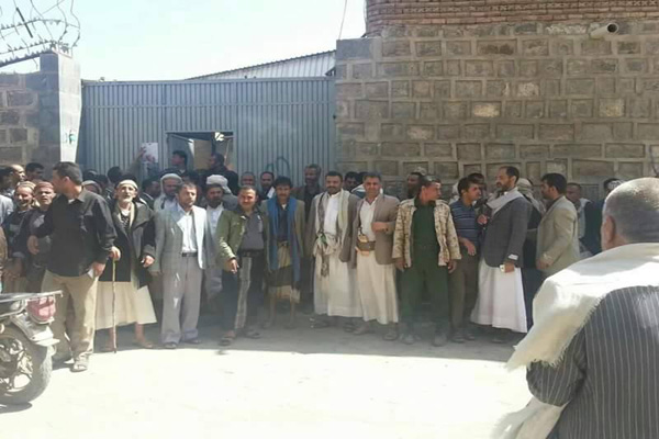ذمار: الحوثيون يعتدون بالرصاص على وقفة احتجاجية لحلفائهم المؤتمر