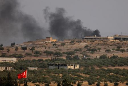 الجيش التركي: طائرات التحالف تقصف أهدافا للدولة الإسلامية بشمال سوريا