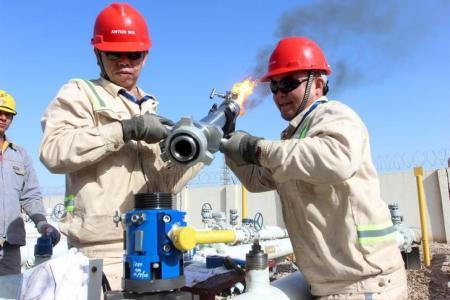 سومو?:? إنتاج العراق من النفط الخام في يوليو يرتفع إلى 4.632 مليون ب/ي