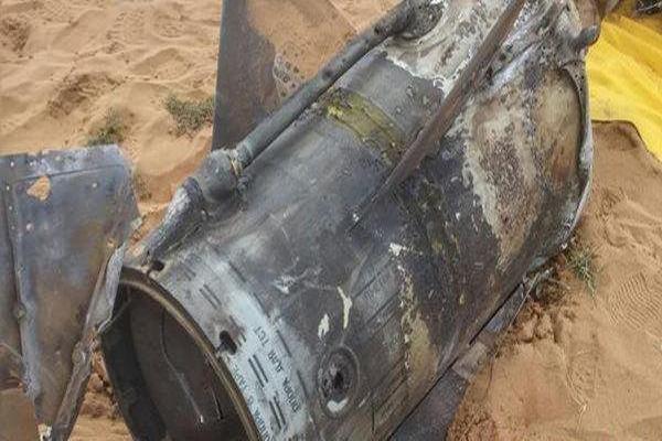 منظومة الدفاع الجوي تعترض صاروخ بالسيتي في مأرب