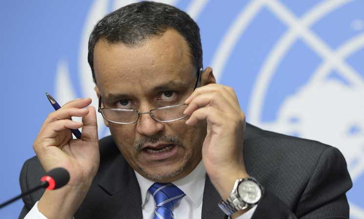 المبعوث الأممي لليمن يغادر عُمان بعد مباحثات مع وفد الحوثيين وصالح