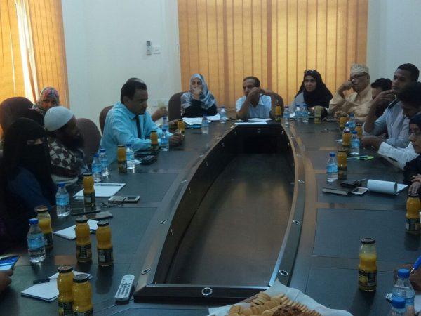 محافظ سقطرى يناقش مع عدد من المنظمات الدولية دعم القطاعات الخدمية بالمحافظة